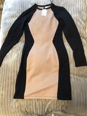 H&M Divided Robe stretch noir-beige