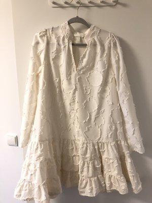 H&M Robe ballon blanc