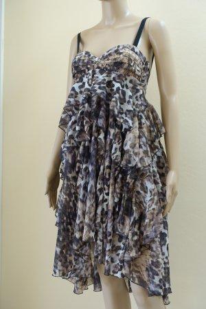 H&M Chiffon Dress multicolored
