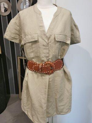 Kleid H&M gr 36 55% leinen
