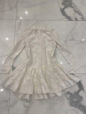 Kleid H&M Gr. 36 weiß Camouflage