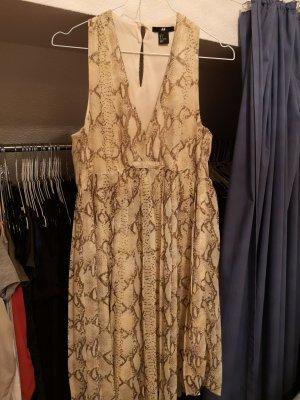 Alexander Wang for H&M Vestido de cóctel nude-marrón tejido mezclado