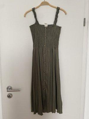 H&M L.O.G.G. Sukienka z odcięciem pod biustem Wielokolorowy