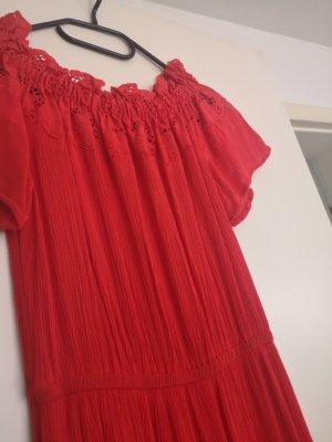 Kleid H&m rot 34 Xs neuwertig