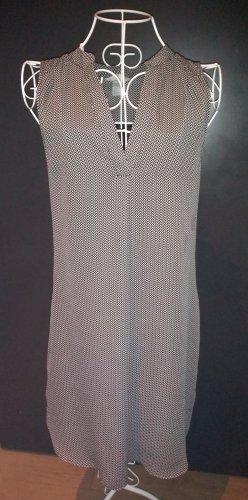 Kleid h&m schwarz-weiß edel Gr. 38