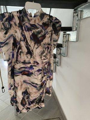 H&M Sukienka mini kremowy-jasny fiolet