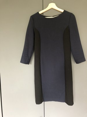 Hallhuber Donna Coat Dress black-dark blue