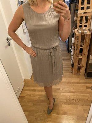 Kleid Hallhuber grau beige