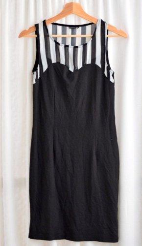 Kleid hauteng und gestreift