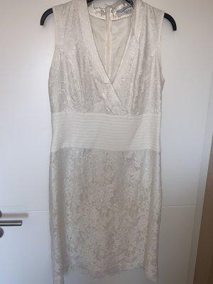 Kleid Heine weiß Gr 40