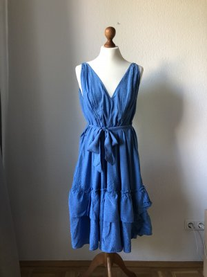 & other stories Flounce Dress cornflower blue