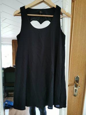 Kleid Herz Ausschnitt hinten