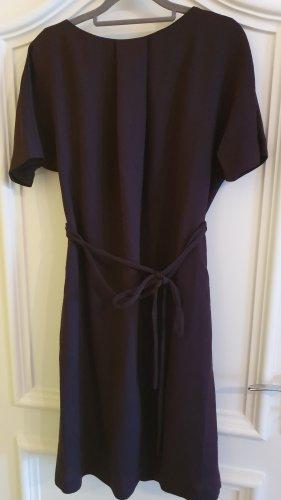 Hess Natur Vestito di lana rosso mora