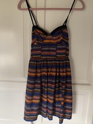Band of Gypsies Mini-jurk veelkleurig