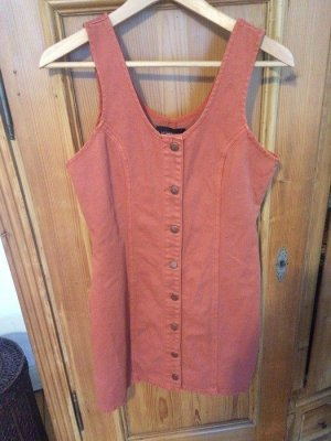 Kleid Hipster Urban Outfitters orange nude