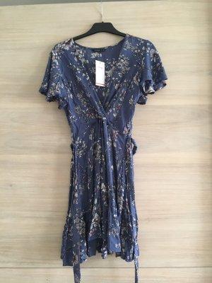 House Babydoll Dress blue
