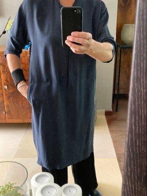 Citizens of Humanity Abito blusa camicia blu scuro Cupro