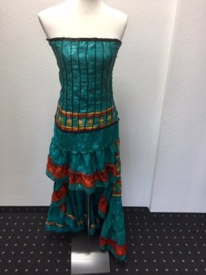 Kleid Ibiza Style / S / türkis