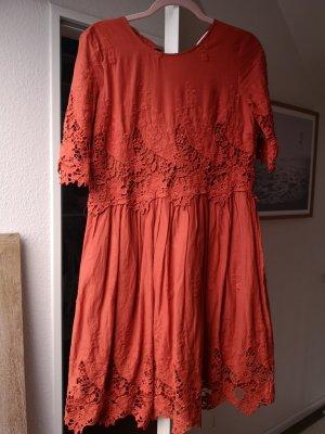 Kleid im Oversizeschnitt