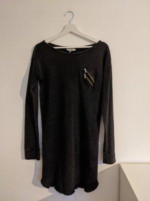 Kleid im Used Look von Zara Zipper S 36
