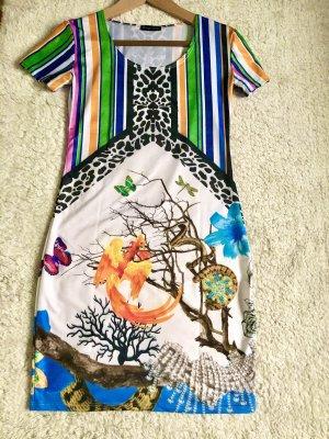 Kleid im Versace Style 34 / 32 XS