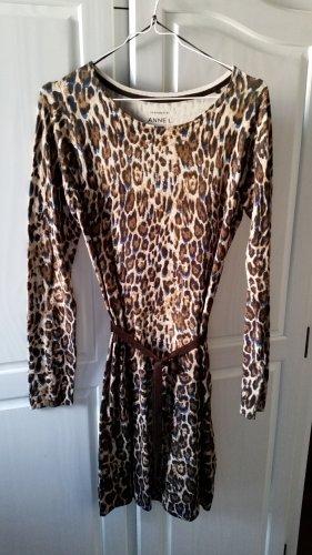 Kleid in Animal Print