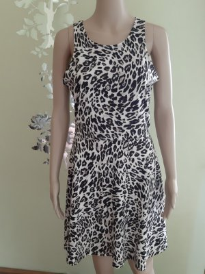 Kleid in Animalprint