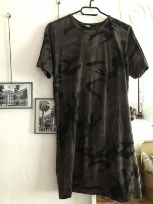 Urban Classics Vestido estilo camisa multicolor