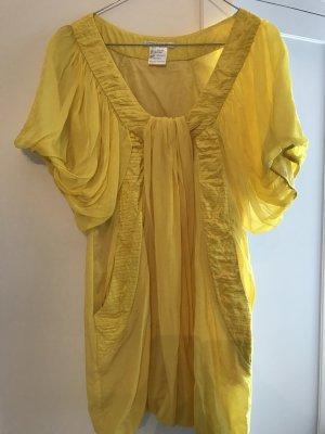 Vestido babydoll amarillo