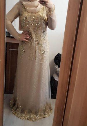 Bruidsjurk room-goud