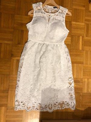 Boohoo Lace Dress white
