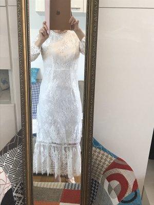 Vila Lace Dress white