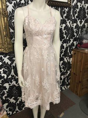 Kleid in Gr.36/S von Chi  Chi London in rosa/ spitze .