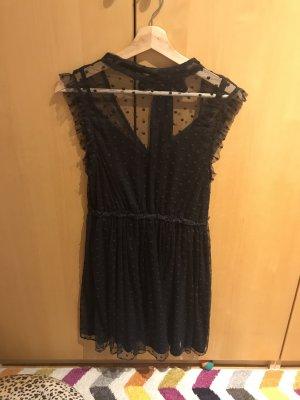 Kleid in Gr.36/S von Review in schwarz / Tüll , ungetragen !