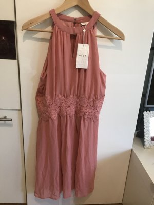 Vila Chiffon Dress salmon-apricot
