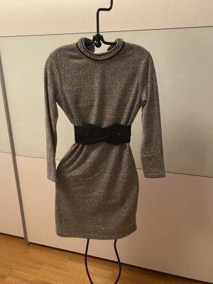 Kein Robe en laine gris