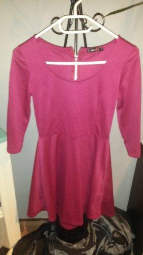 FB Sister Longsleeve Dress raspberry-red
