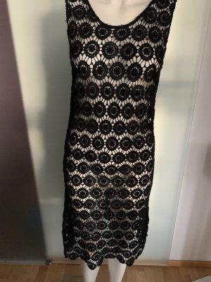 Kleid in häkeln Look Spitze Gr 38 40 M