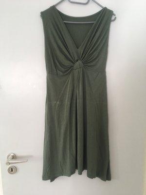 Kleid in Khaki Gr.40/42