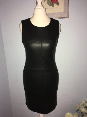 Kleid in Lederoptik Größe XS