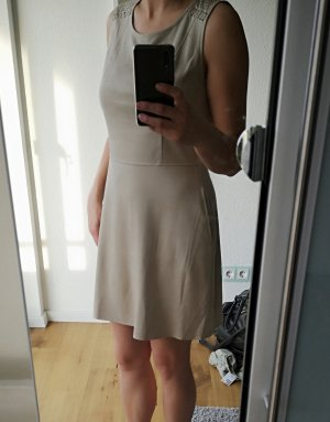 Salsa Leather Dress cream-oatmeal
