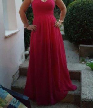 Kleid in pink einmal getragen.