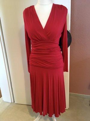 Designerstück Shirt Dress red viscose