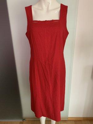 Kleid in rot Gr 42 XL von Nienhaus&Lotz