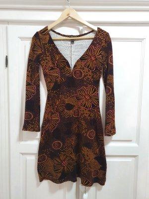 Kleid in Samtoptik, Größe 34 bzw. xs