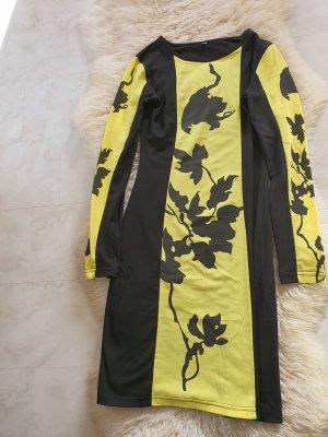 Kleid in schwarz/gelb