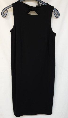 Kleid in schwarz von Esprit Gr. S Gr. 36 mit Ausschnitt hinten