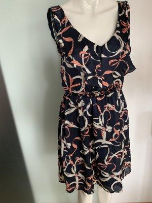 Kleid in Seiden Look Gr 36 S von H&M
