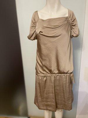 Kleid in Seiden Look Gr 38 M
