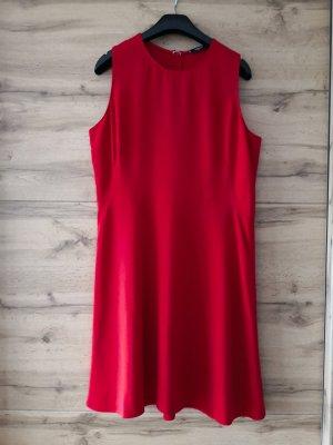 Kleid in Statementfarbe  Rot – Marke Mango – L